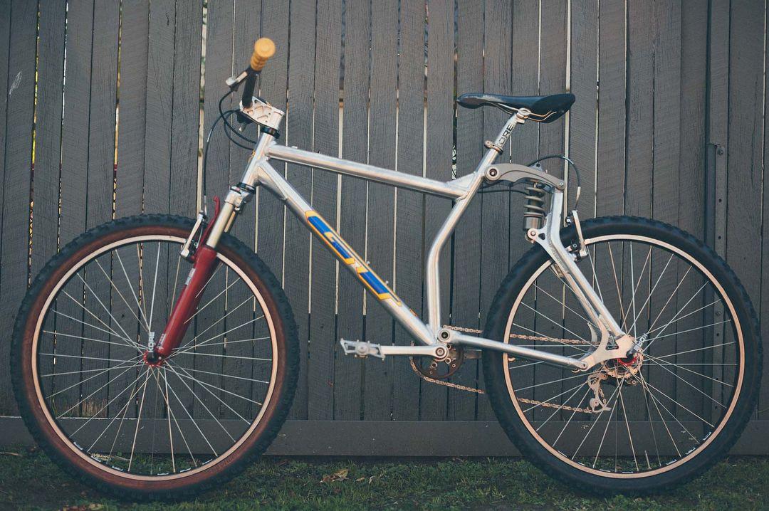 Gt Lts Dh Boomerang Retro Bike Vintage Mountain Bike Gt Bikes