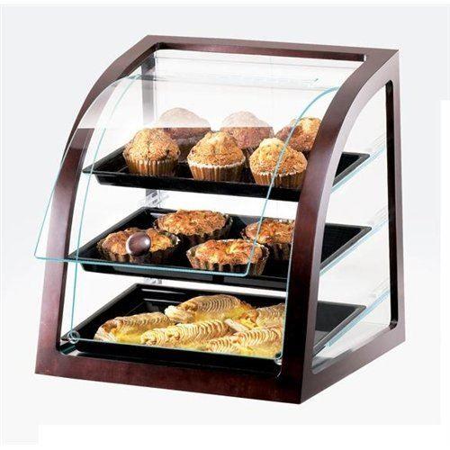 Custom Glass 30 Countertop Straight Glass Food Display Case Dry