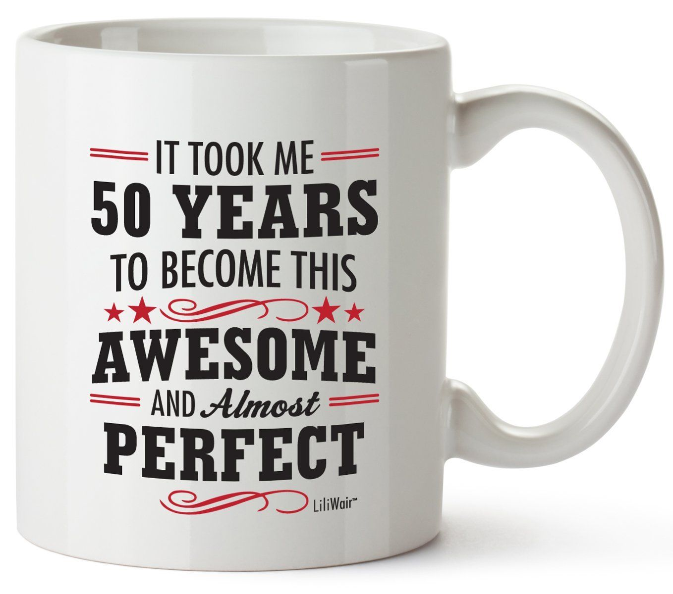 50th birthday gifts for women fifty years old