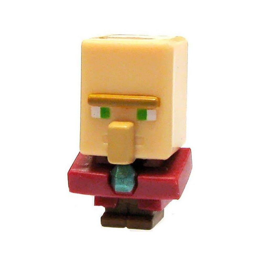 "Minecraft Mini-Figures Obsidian Series 4 1/"" Priest Villager Figure Mojang"
