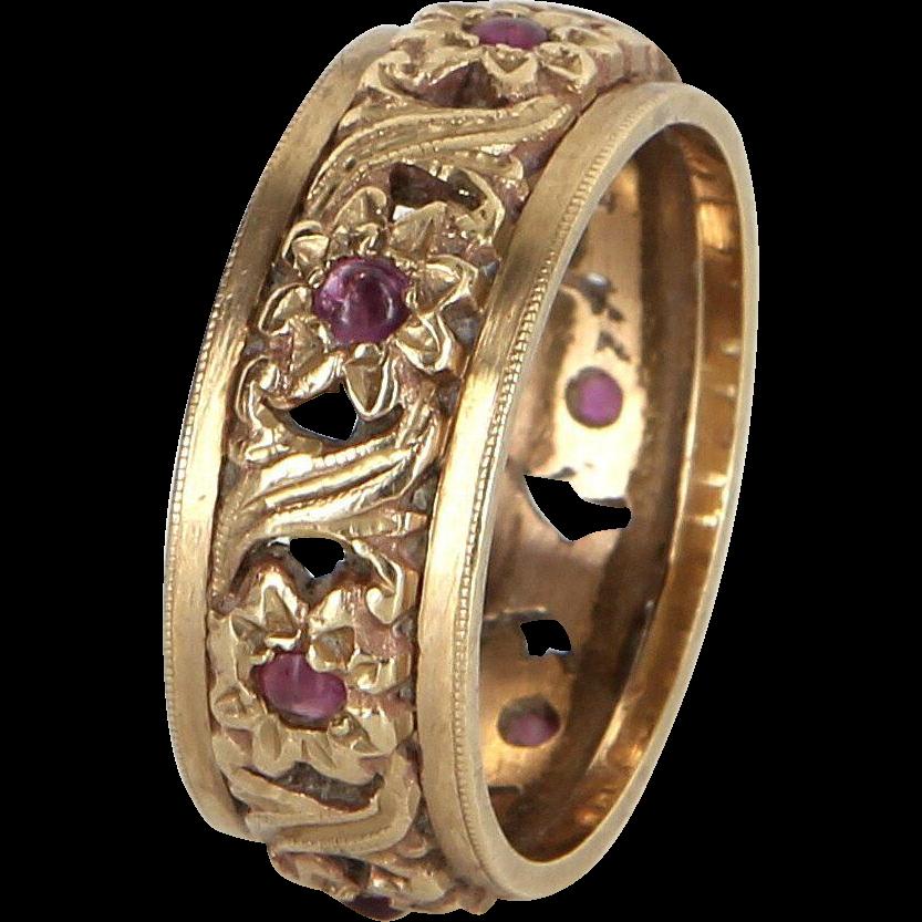 Frigate unicorn wedding ring