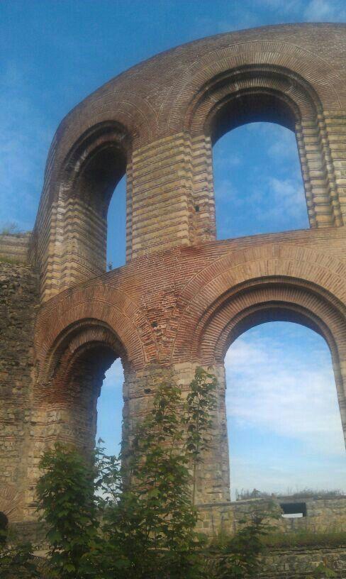 Trier, Alemania. Baños romanos