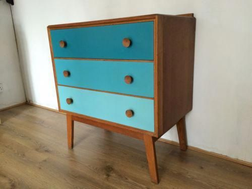 Retro Meredew Teak Chest Of Drawers 60 39 S 70 39 S Upcycle