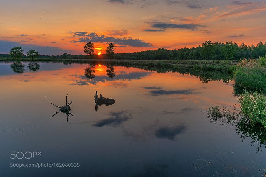 Sunsetmirror by PhOtO_graphie. Please Like http://fb.me/go4photos and Follow @go4fotos Thank You. :-)