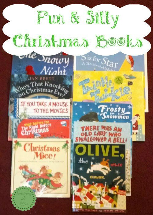 Top 10 Fun And Silly Christmas Books Pinterest Child Books
