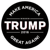 ... Trump Bumper Sticker – Traditional Design. aug2015_trump_01_wht