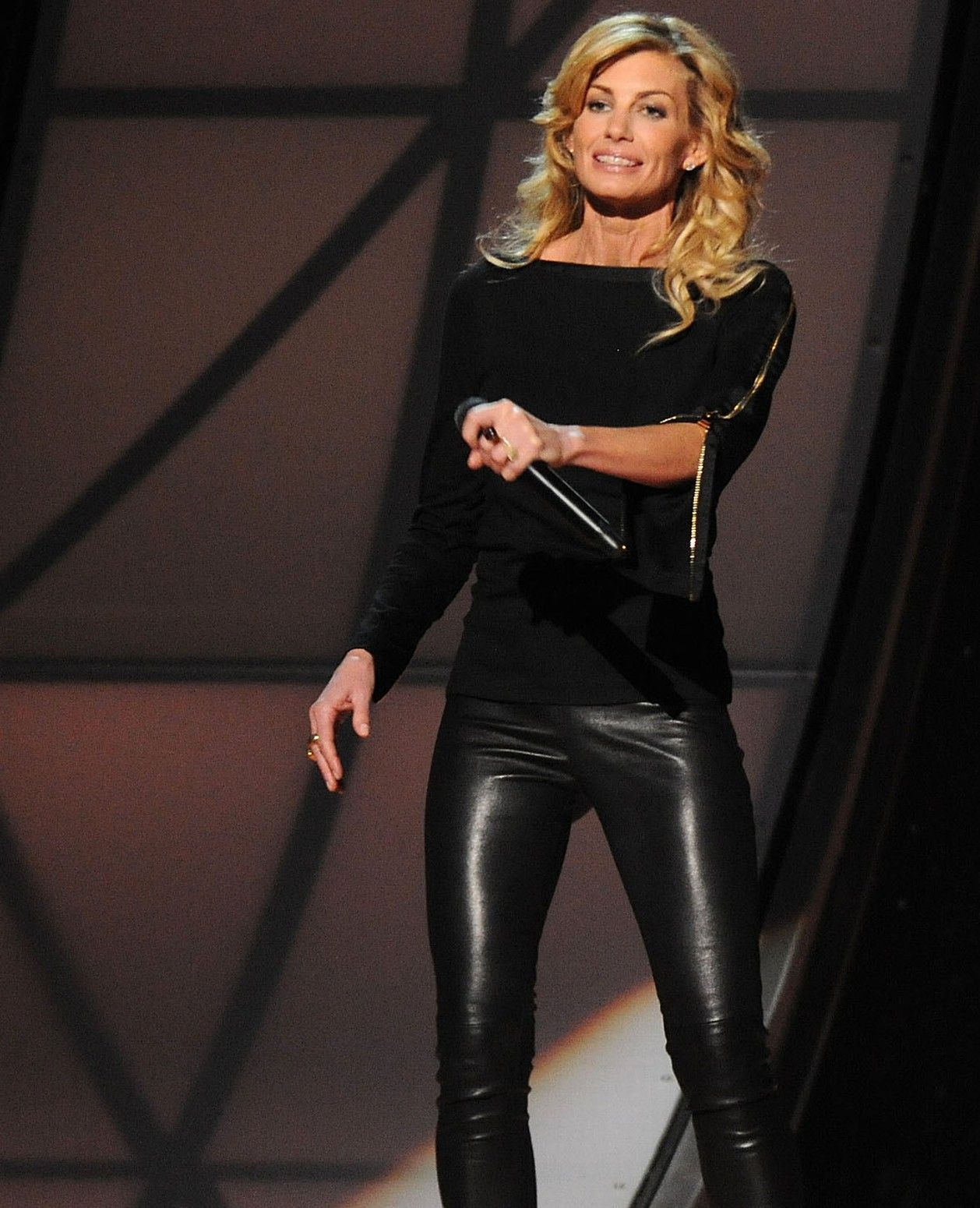 Anya black latex catsuit 5