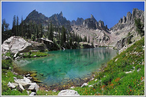 Sawtooth Lake, Stanley Idaho  Beautiful!!!