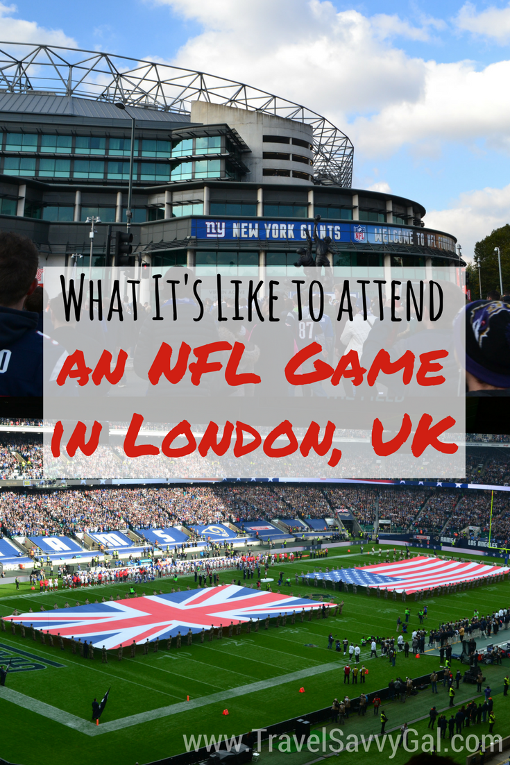 What It S Like To Attend An Nfl Game In London What Is Like Nfl