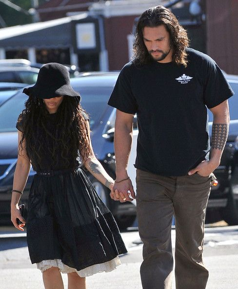 Lisa Bonet And Jason Momoa At The Brentwood Country Mart - Pictures - Zimbio