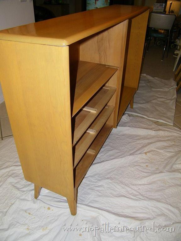 Refinishing Heywood Wakefield Furniture L No Pattern Required Midcentury Everyday