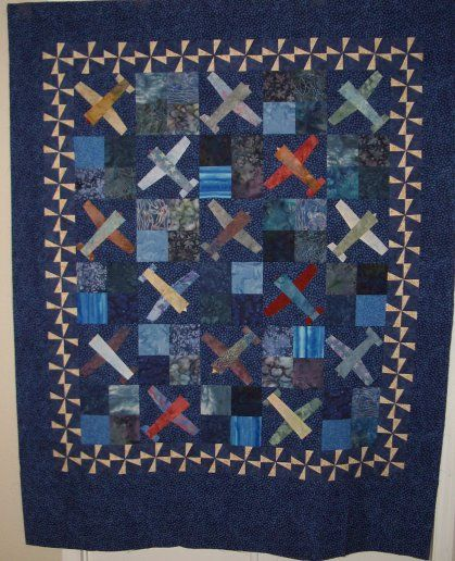 airplane quilt @Judith Thompson | Up There | Pinterest | Airplane ... : airplane quilts - Adamdwight.com