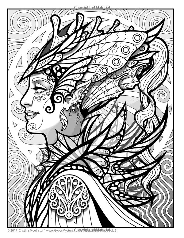 Amazon Magical Beauties Coloring Book 2 Volume