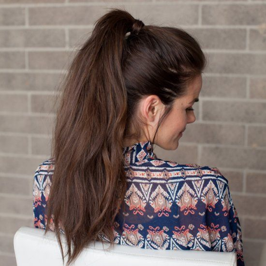 Learn the trick to a full and voluminous ponytail from Erica of 10.11 Makeup!