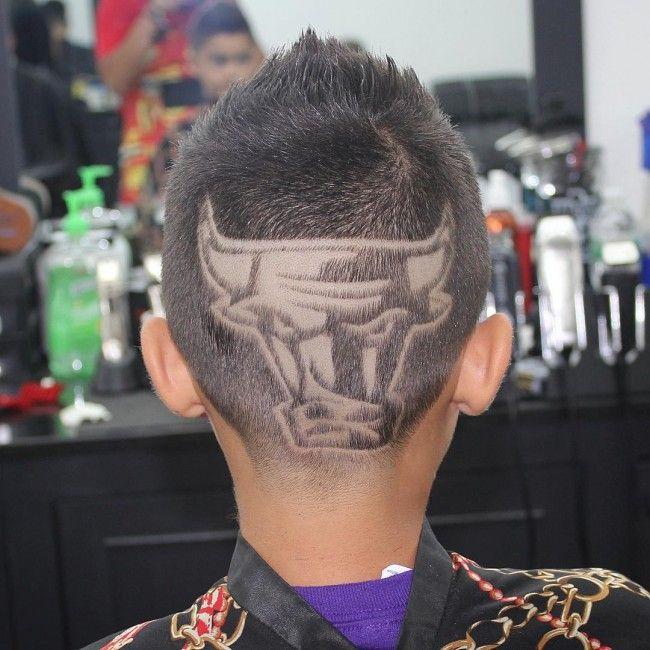 haircut design basketball