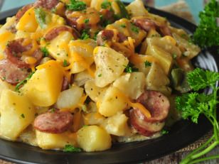 Photo of Potato Kielbasa Skillet Recipe  – Food.com