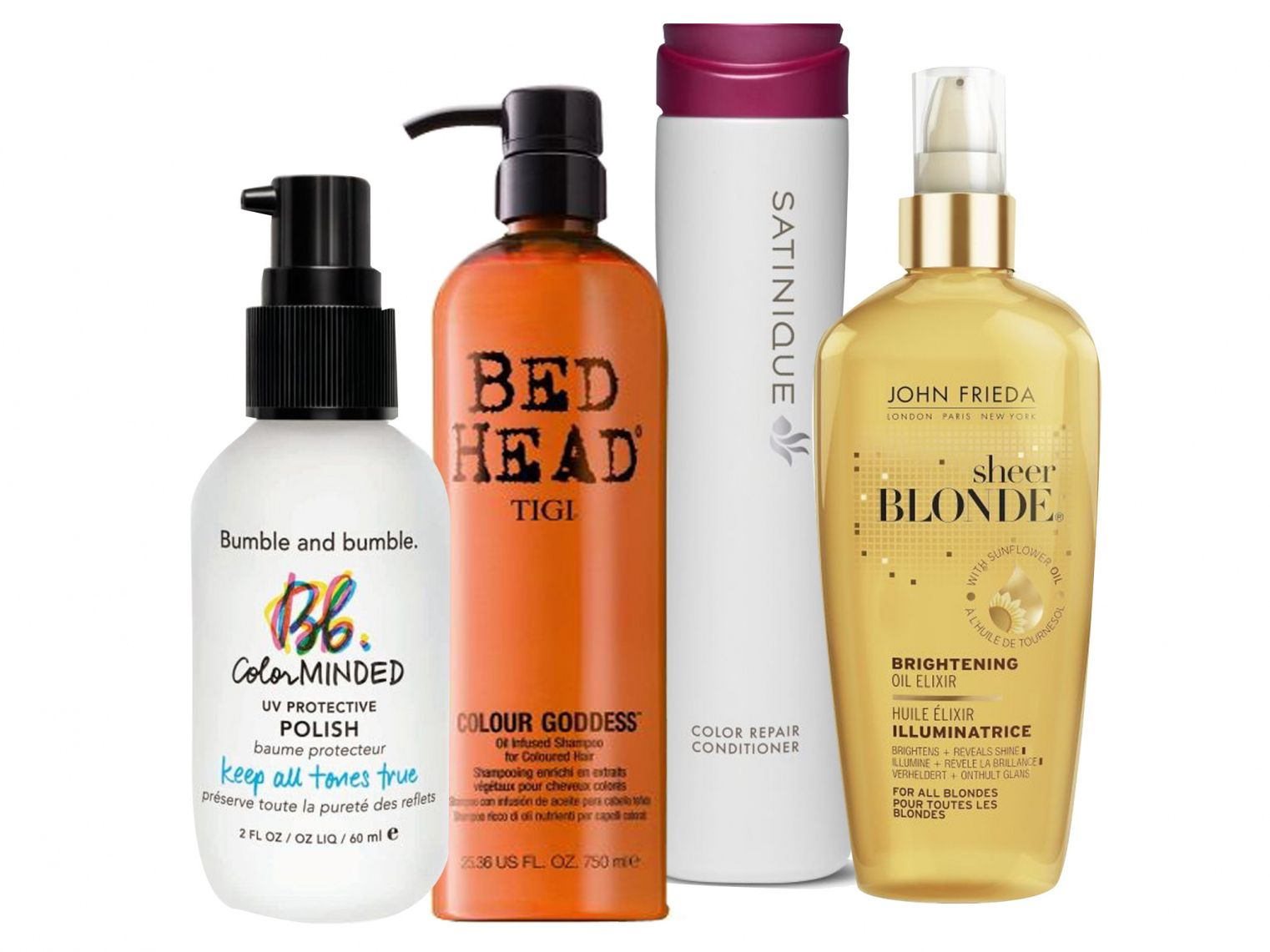 Best Shampoo And Conditioner For Blonde Color Treated Hair Best