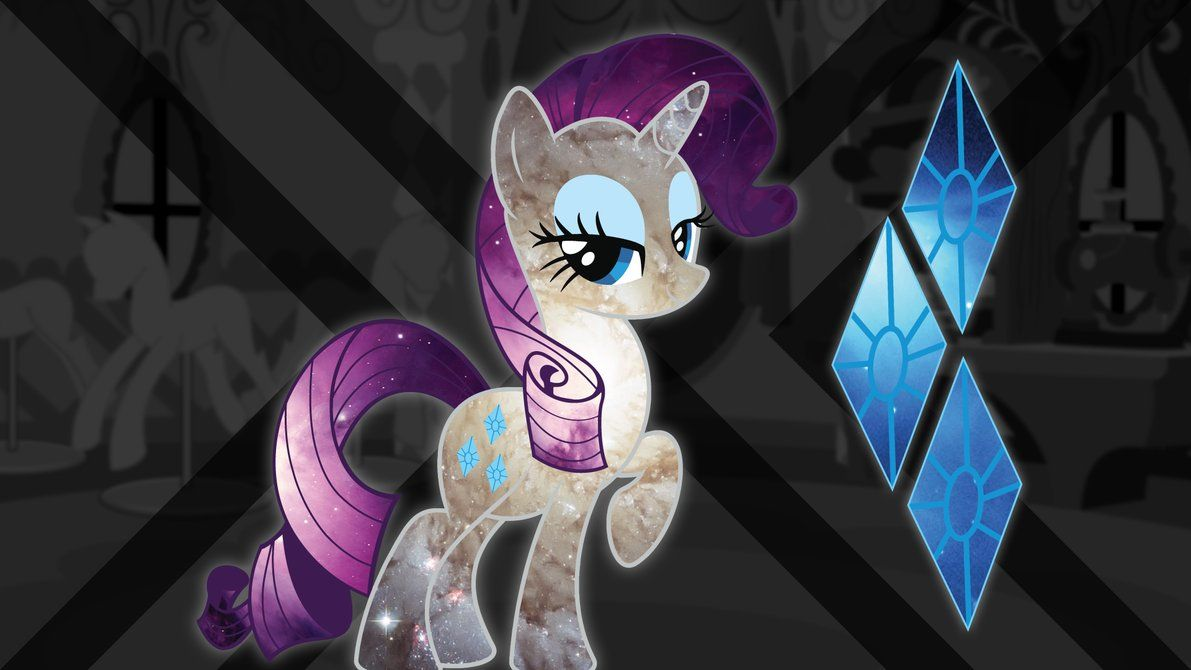 Spacey Rarity Wallpaper by ChingyPants on deviantART