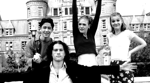 10 Things I Hate About You Soundtrack: 10 Things I Hate About You Black And White Photography