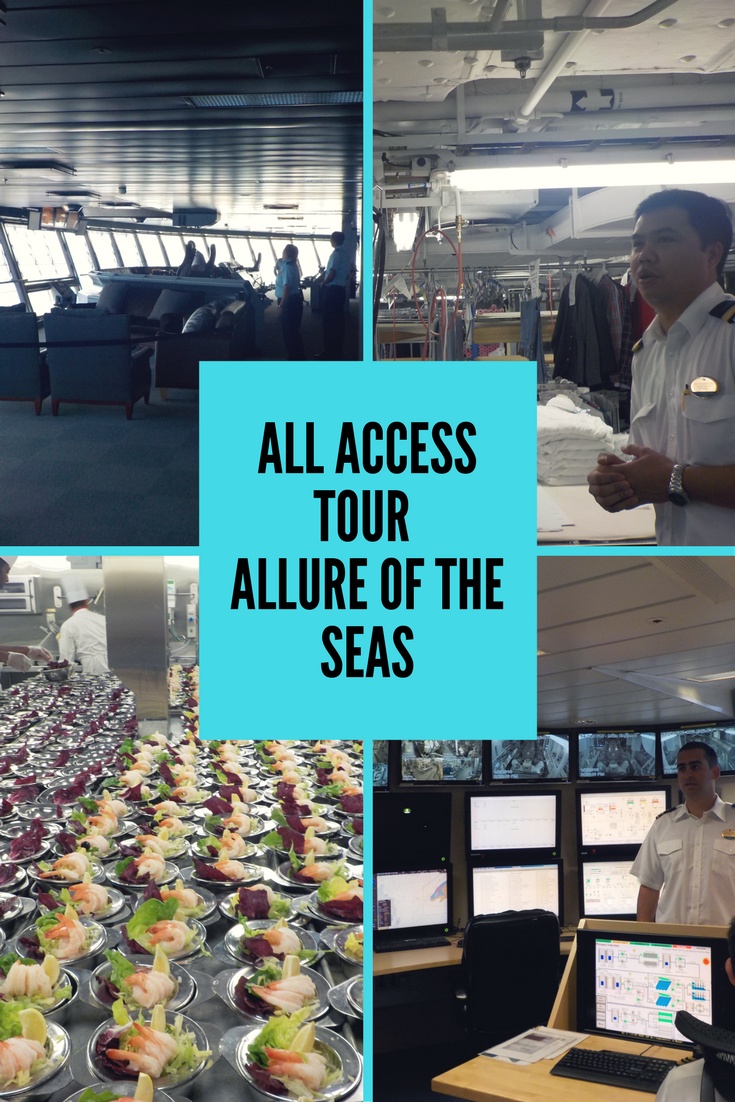 Disney Cruise Ship Engine Room: All Access Tour Allure Of The Seas