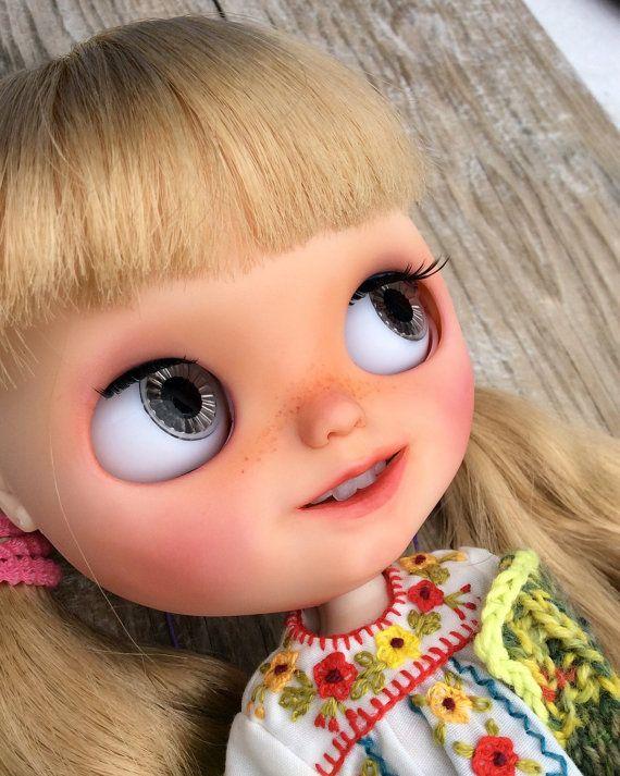Juguetes Blythe Doll Banochita Custom Original