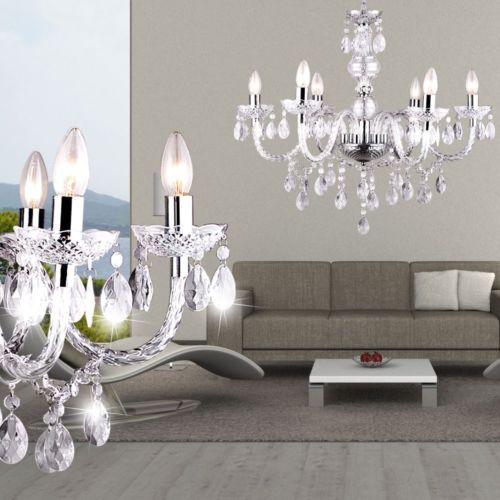 Details zu Kronleuchter Decken Pendel Hänge Leuchte Luster - beleuchtung für schlafzimmer