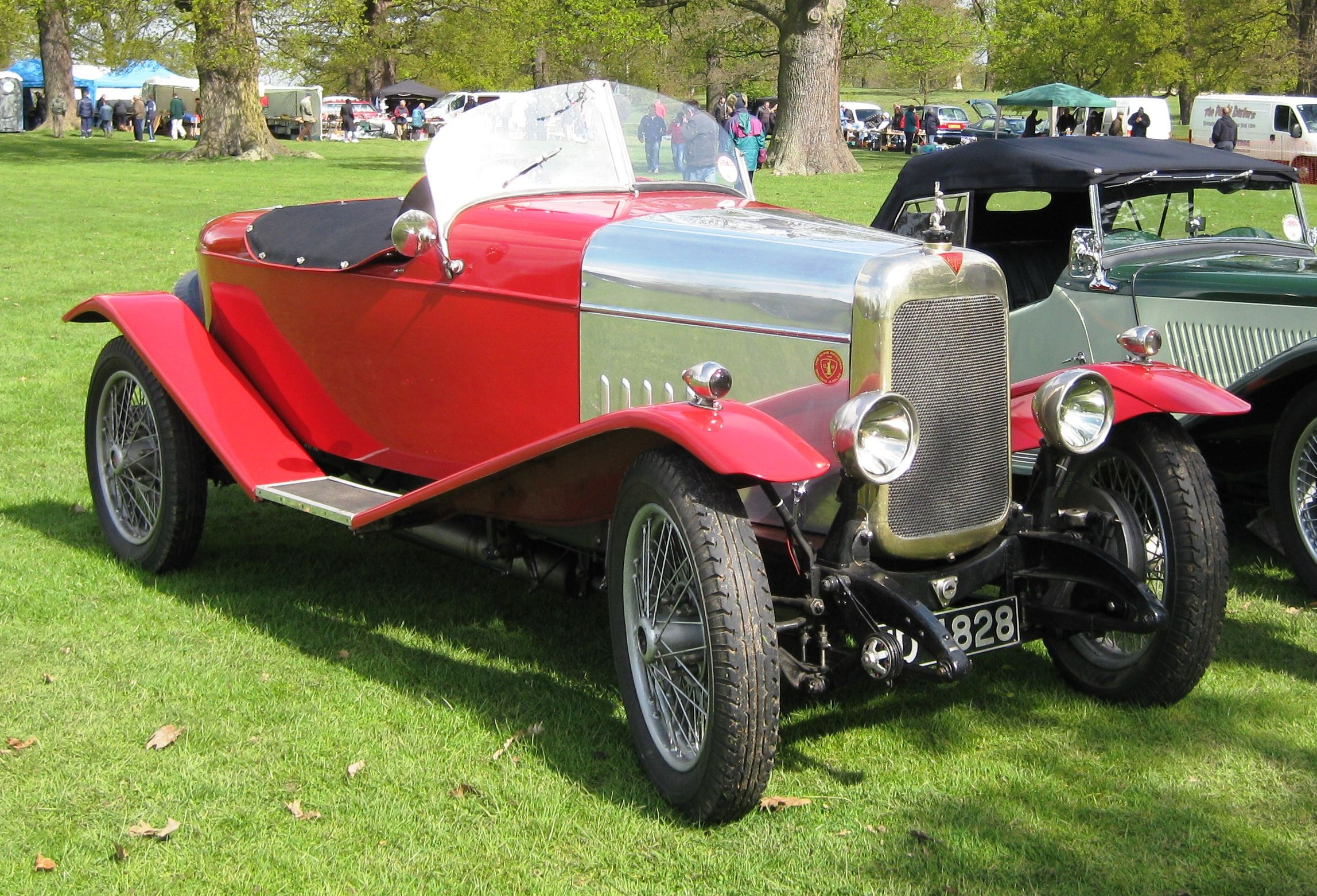1932 Alvis 12/50 Type TJ, rebuilt to resemble a car of the mid-1920s ...
