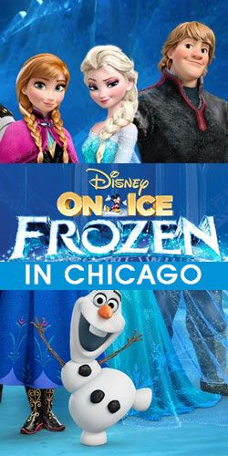 Win Tickets to See #Disney On Ice: #Frozen In Chicago