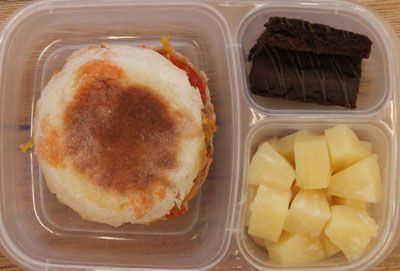 great homemade lunches, 53 weeks worth! and she uses WW points!