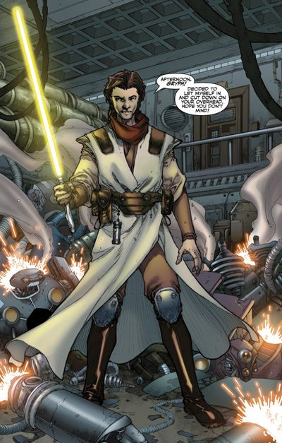 Jedi Padawan Zayne Carrick From The Star Wars Knights Of The Old