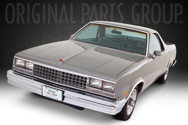 1984 el camino el camino pinterest el camino monte carlo and cars. Black Bedroom Furniture Sets. Home Design Ideas