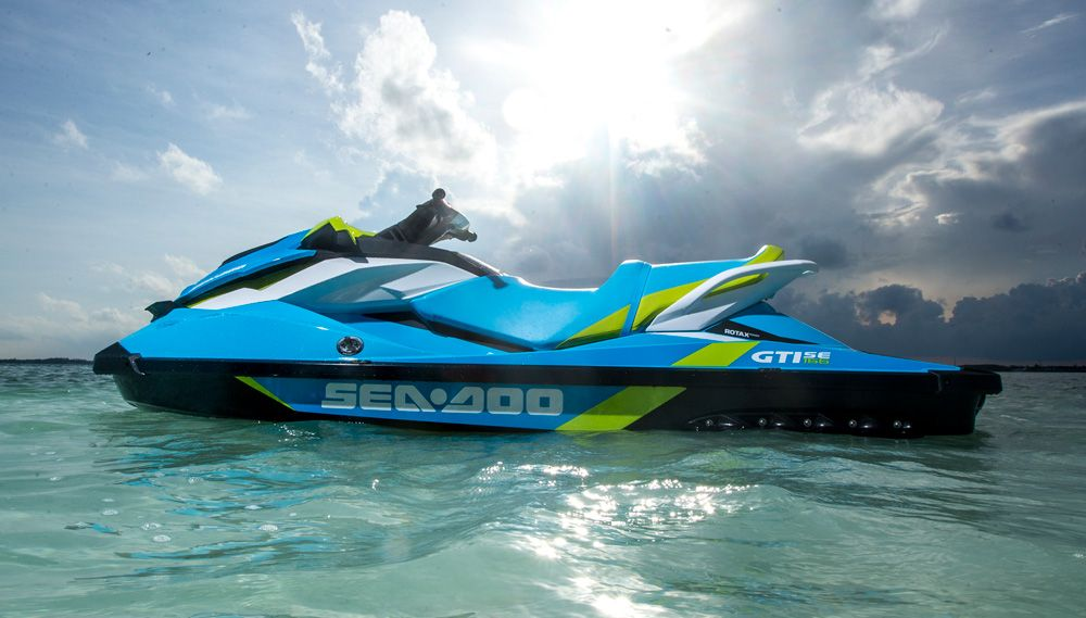 2016 Sea-Doo GTI SE 155 Review | BOATS | Pinterest | Jet ski, Sea ...
