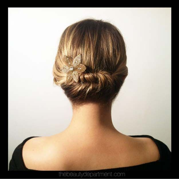 Easy Hairstyles For Short Hair To Do At Home Fascinating 41 Diy Cool Easy Hairstyles That Real People Can Actually Do At Home