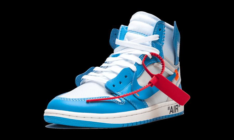 Air Jordan 1 Retro High Off White Unc Aq0818 148 Best Sneakers Jordan 1 Blue Air Jordans