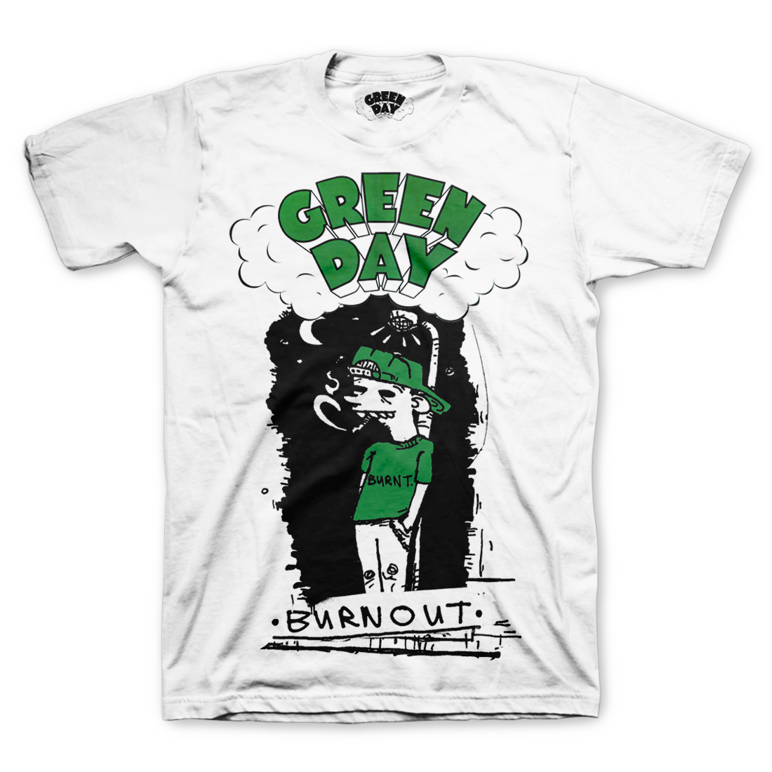 5be4d24c72f Burnout T-Shirt – Green Day Store | Good taste! | Green day, T shirt ...