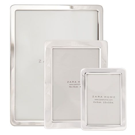 Silver Picture Frame with Rounded Corners - For Home - Gift Ideas ...