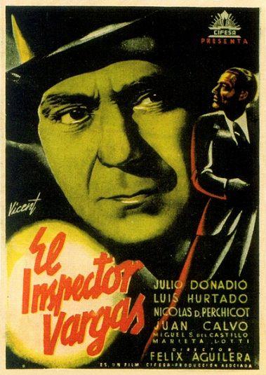 El Inspector Vargas 1940 Tt0032632 Carteles De Cine Cine Cine Clasico