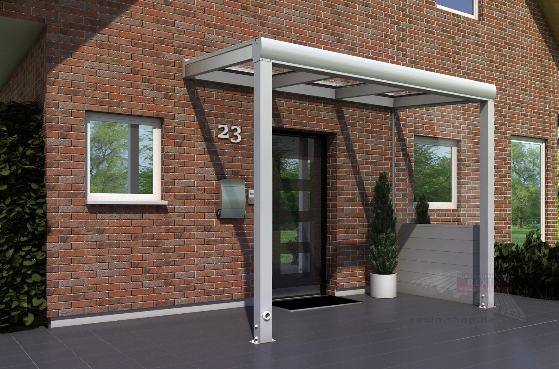 Terrassenüberdachungen aus Holz oder Alu, Stegplatten und ...