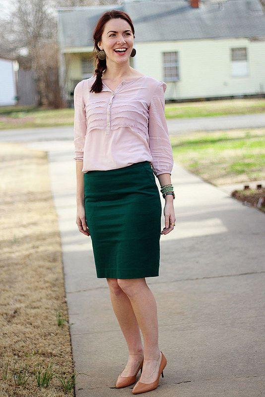 Green Week Linkup: Pink & Green and White Legs