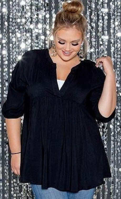 blusas patrón para las mujeres obesas (Costura)    Revista inspiración modista