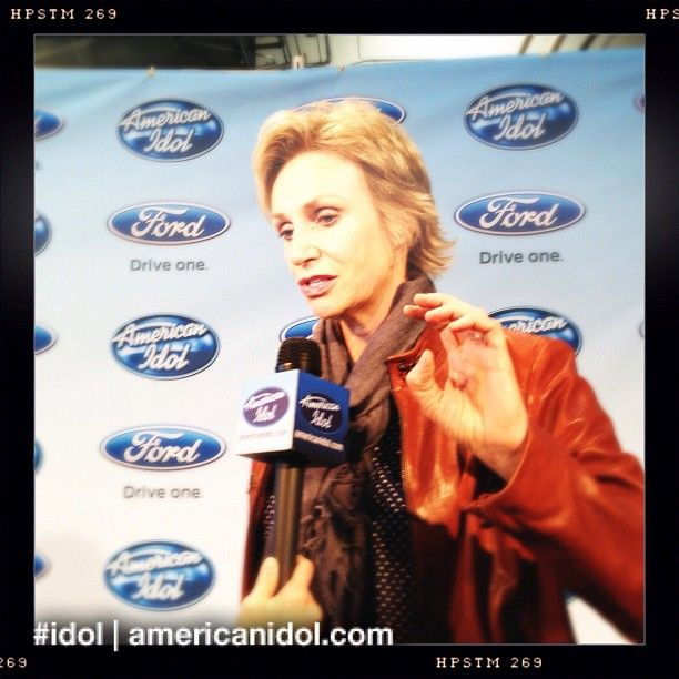 Actress Jane Lynch gave us her thoughts on #thesave after the show! #idol