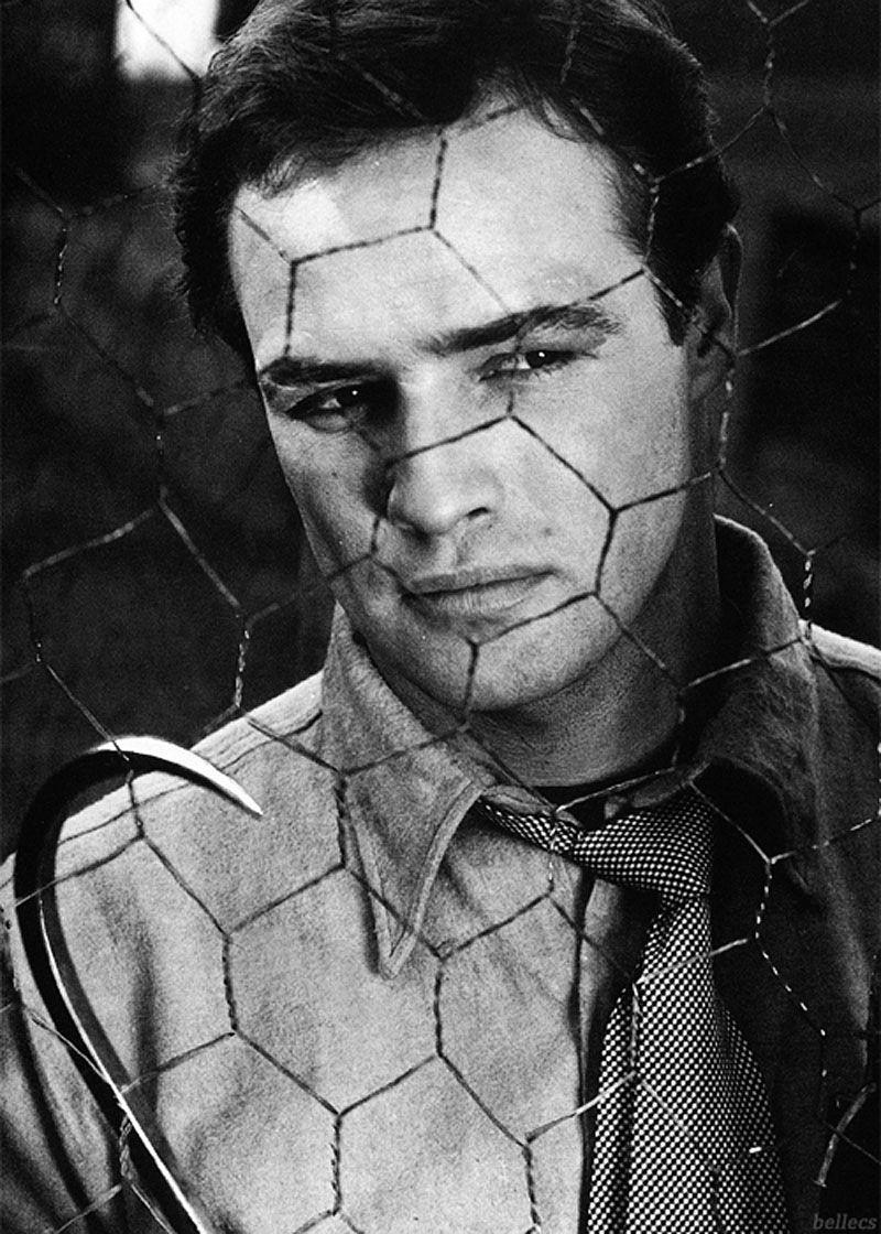 """1954 - Marlon Brando en """"La Ley del Silencio"""" (On the Waterfront)"""