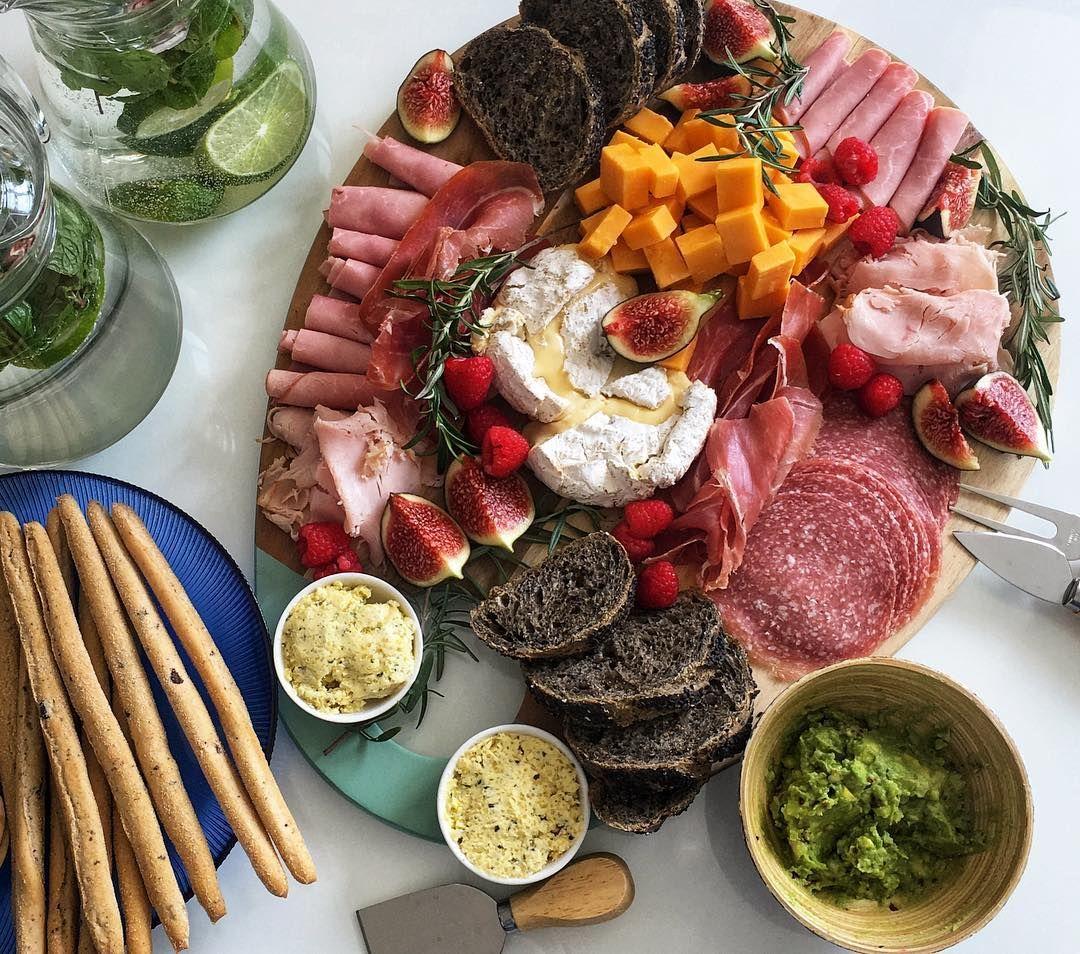 Summer Grazing Platter Charcuterie Plate Charcuterie Eat