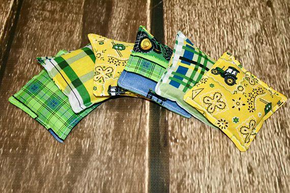 John Deere Bean Bag Toys Themed Party Toddler Boy Gift Toss Kid Toy