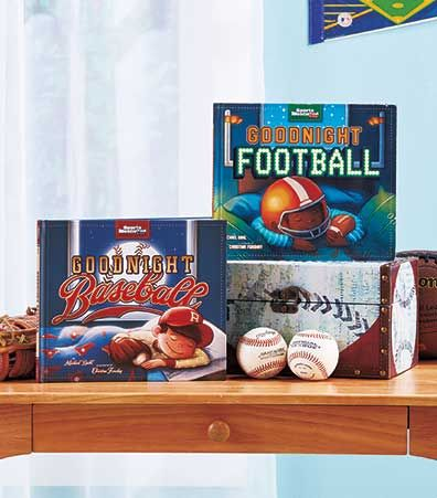 Goodnight Football or Baseball Book is the perfect bedtime story for every little sports fan. Each Sports Illustrated Kids book is filled with rich illustration