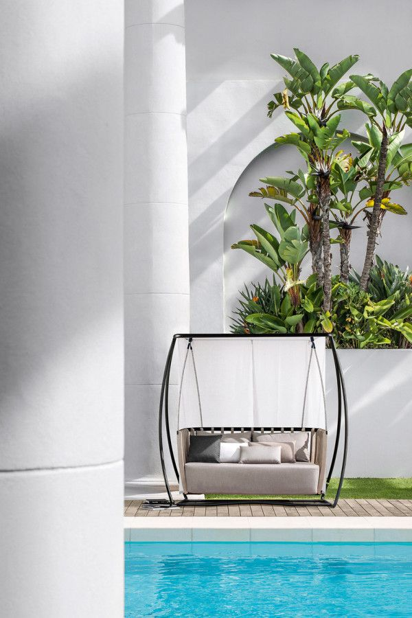 Swing Outdoor Collection by Patrick Norguet for Ethimo