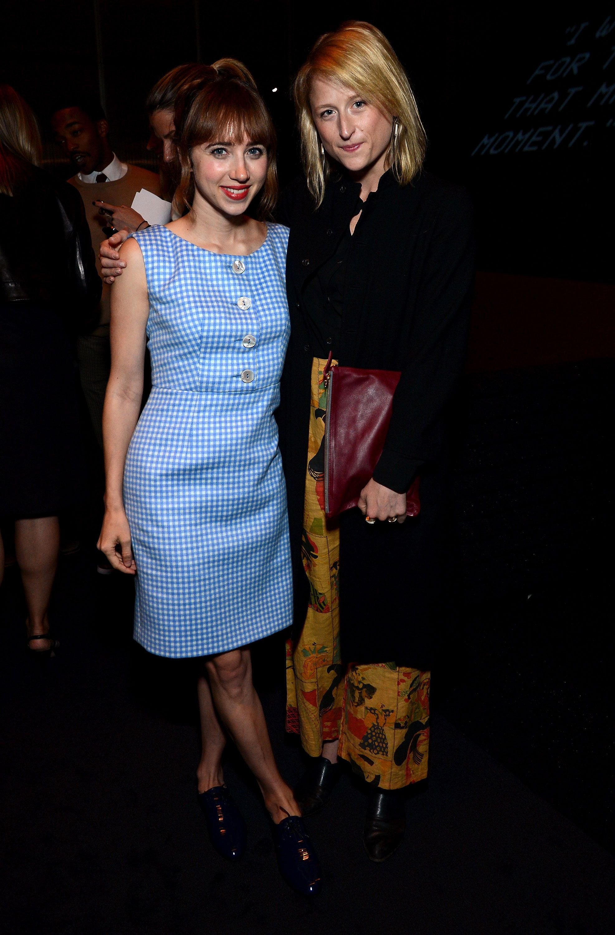 Literally Fashionable  - Zoe Kazan and Mamie Gummer. Photo by BFAnyc.com.7