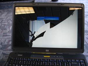 How To Replace A Broken Laptop Screen Laptop Screen Repair Laptop Screen Laptop