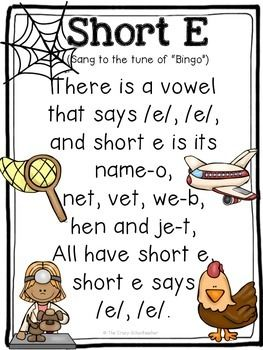 Short Vowel Songs Vowel Song Teaching Vowels Short Vowels