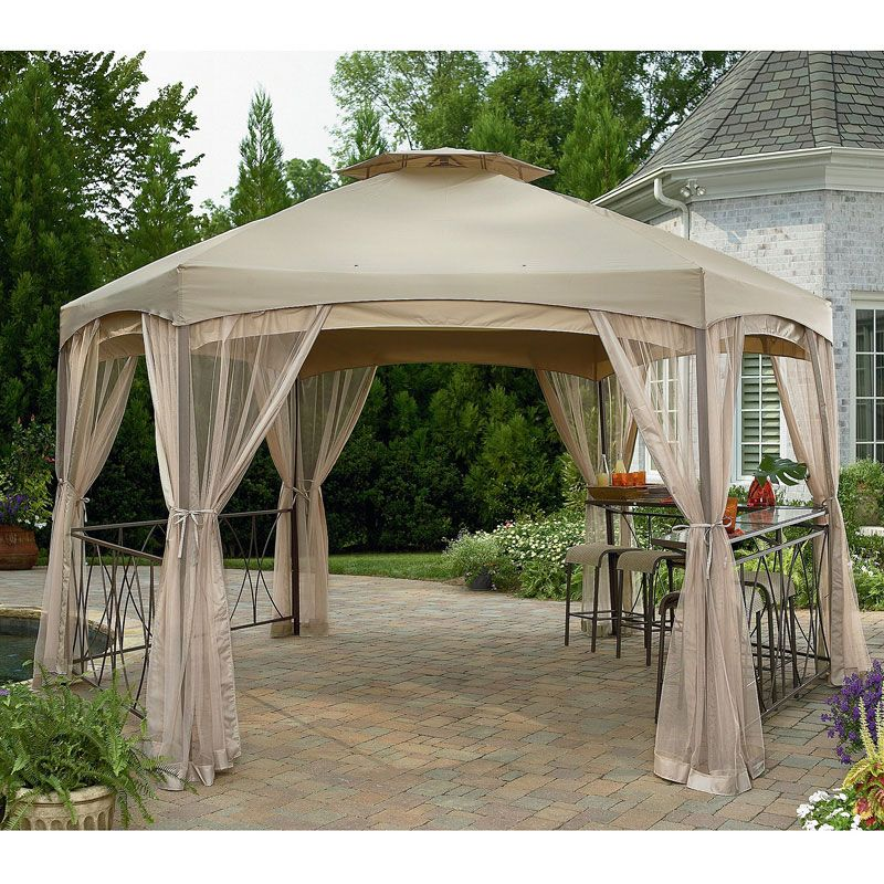 Sears Garden Oasis Clayton Gazebo Replacement Canopy Garden Winds Gazebo Replacement Canopy Gazebo Canopy Gazebo Netting